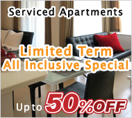 Limited Term All Inclusive Special | Serviced Apartments 50%OFF