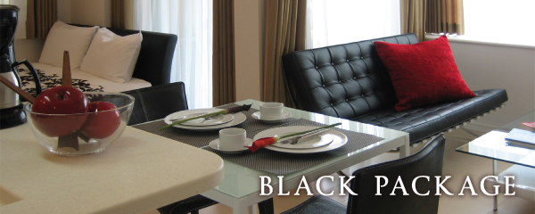 Furniture Rental Package | Black
