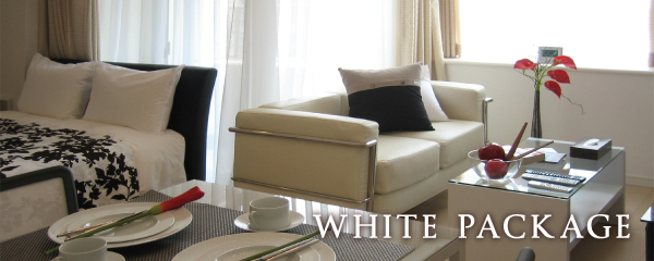 Furniture Rental Package | White
